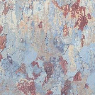 Tapet albastru cu bej și maro